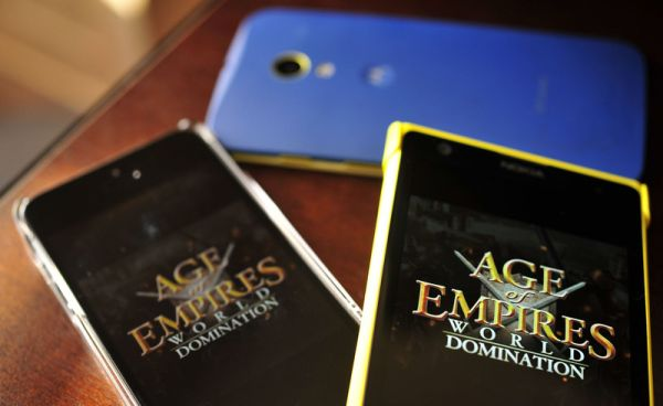 age of empires,world domination,mobil,application,uygulama,android,ios,windows,phone,telefon,oyun