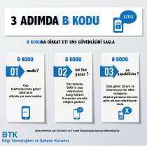 sms kodu,b001,b003,btk,