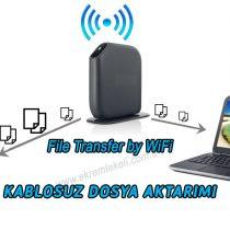 kablosuz dosya transferi,telefon,bilgisayar,wifi